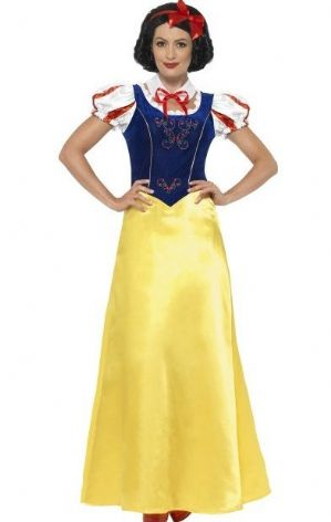 Snow Princess Costume - Plus Size XL Snow White Costume 24643